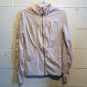 Lululemon blush and gray jacket, sz 10, 58249